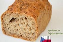 Malý chléb kmínový-bez lepku