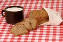 Malý chléb s bio lněnou vlákninou bez lepku-2.místo Regionální potravina 2014