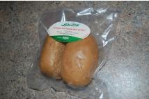 Amarantová houska balená bez lepku - 2 kusy